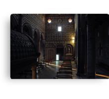 San Miniato al Monte in Florence Canvas Print