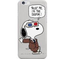 Peanuts Trust Me Im Doctor iPhone Case/Skin