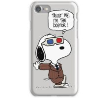 Peanuts Trust Me Im Doctor iPhone Case/Skin