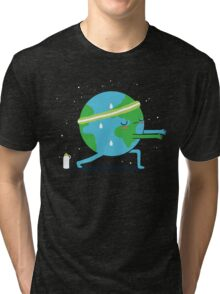 Global warming up Tri-blend T-Shirt