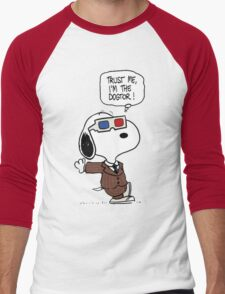 Peanuts Trust Me Im Doctor Men's Baseball ¾ T-Shirt