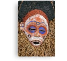 Traditional African Mask Canvas Print