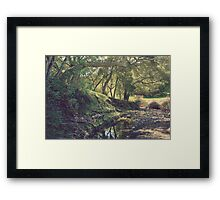 For a Time You Were Mine Framed Print
