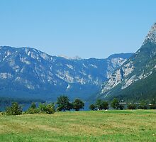 Lake Bohinj from Stara Fuzina by jojobob