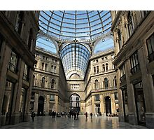 Galleria Umberto I Photographic Print