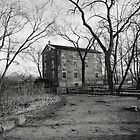 Old Mill in Monochrome by CanoeComsArt