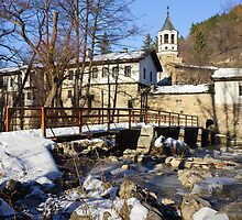 Dryanovo Monastery in the Winter by kirilart