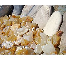 AGATES Rocks Art Prints Beach Coast Agate Photographic Print