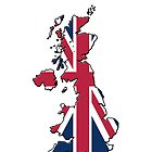 Smartphone Case - Cool Britannia - White Background by Mark Podger