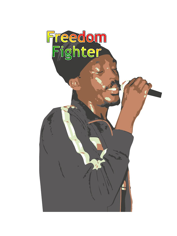 Anthony B - Freedom Fighter by Morignus