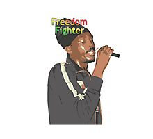 Anthony B - Freedom Fighter Photographic Print