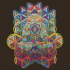 Vipassana - 2012 - Buddha on chair as Tshirt by karmym