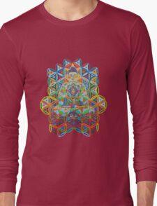 Vipassana - 2012 - Buddha on chair as Tshirt Long Sleeve T-Shirt