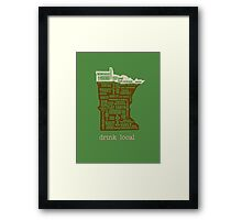 MN Drink Local Framed Print