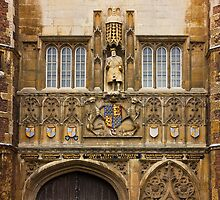 The Great Gate Entrance of Trinity College by kirilart