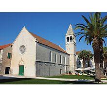 St Dominic monastery in Trogir Photographic Print