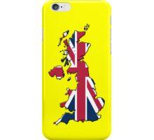 Smartphone Case - Cool Britannia - Yellow Background iPhone Case/Skin