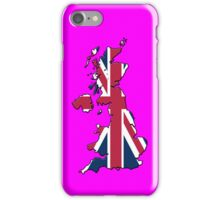 Smartphone Case - Cool Britannia - Shocking Pink Background iPhone Case/Skin