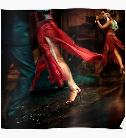 Tango Reflection Poster