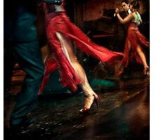 Tango Reflection Photographic Print