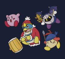 Kirby - Star Squad! Kids Tee