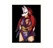 Tekken Kunimitsu Design Art Print