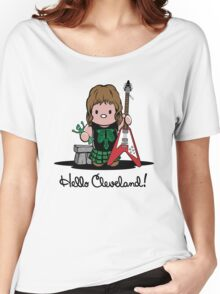 Hello Cleveland! Women's Relaxed Fit T-Shirt