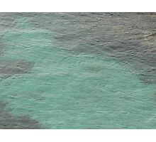 Blue blue sea Photographic Print