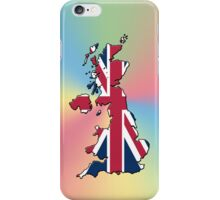 Smartphone Case - Cool Britannia - Yellow Blue Pink Background iPhone Case/Skin