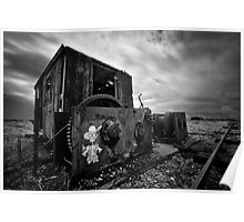 The Winch, Dungeness Poster