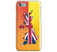 Smartphone Case - Cool Britannia - Orange Yellow Background iPhone Case/Skin