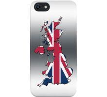 Smartphone Case - Cool Britannia - Silver Background iPhone Case/Skin