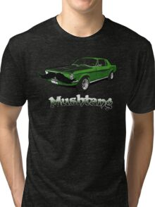 Mushtang Tri-blend T-Shirt
