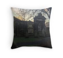Greyfriars and Flodden Wall Throw Pillow