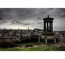 Edinburgh from Calton Hill Photographic Print