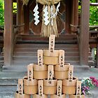 Water Buckets at Eikando Temple by jojobob