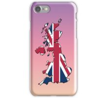 Smartphone Case - Cool Britannia - Yellow Pink Purple Background iPhone Case/Skin