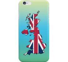 Smartphone Case - Cool Britannia - Green Blue Yellow Background iPhone Case/Skin
