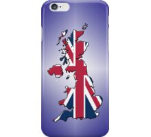 Smartphone Case - Cool Britannia - Purple Diamond Background iPhone Case/Skin