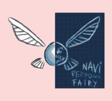 navi personal fairy  Kids Tee