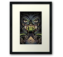 The Courier Framed Print