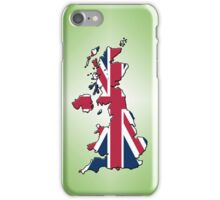 Smartphone Case - Cool Britannia - Lime Green Diamond Background iPhone Case/Skin