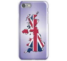 Smartphone Case - Cool Britannia - Light Purple Diamond Background iPhone Case/Skin
