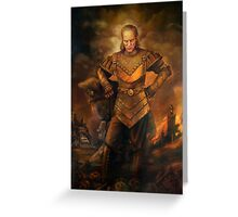 Vigo the Carpathian Greeting Card