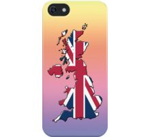 Smartphone Case - Cool Britannia - Medium Spectrum Background iPhone Case/Skin
