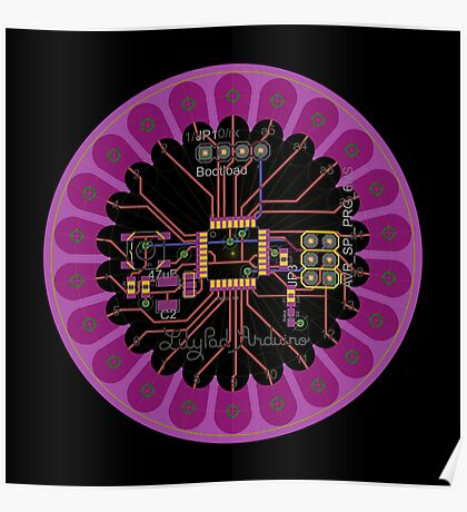 LilyPad Arduino 02 Reference Design  Poster