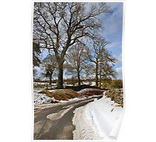Winter still clings on Poster