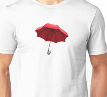 red umbrella Unisex T-Shirt