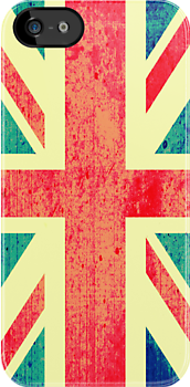 Retro UK Flag by chrishull