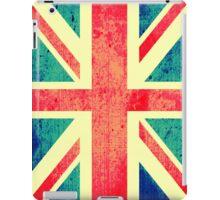 Retro UK Flag iPad Case/Skin